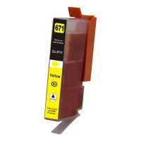 Canon CLI-671XL Yellow Ink (Compat) [CLI671XLY]