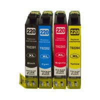 Epson 220XL Value 4-Pack (Compat) [C13T294692]